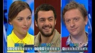 სიტყვების თამაში - მსახიობები: ნიკა კუჭავა, ანა ტყებუჩავა და გიორგი მახარაძე