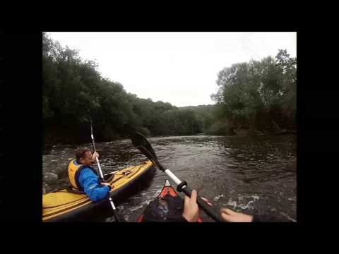 The Inflatables -The River Wye Day 2