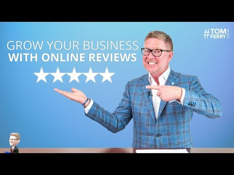 How to Grow Your Business with Online Reviews | #TomFerryShow