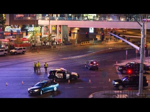 Las Vegas strip crash 'intentional'