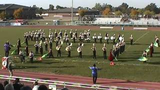 Weiser Marching Band @ Showcase of Marching Bands Competition Oct 2, 2010