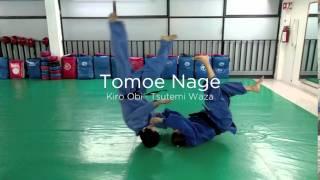 Tomoe Nage  (Kiro Obi · Tsutemi Waza)