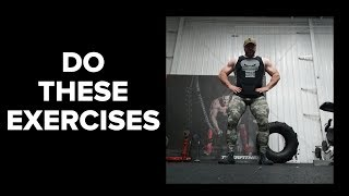 The 5 Exercise You MUST Do to Build Muscle and Strength