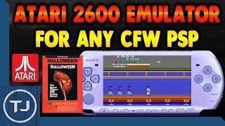 PSP Atari 2600 Emulator Download And Setup!