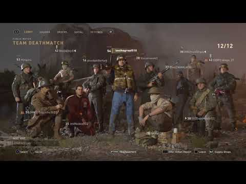 Call of Duty WWIl Gameplay # 1