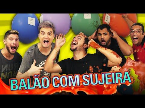 DESAFIO DO BALÃO SURPRESA!
