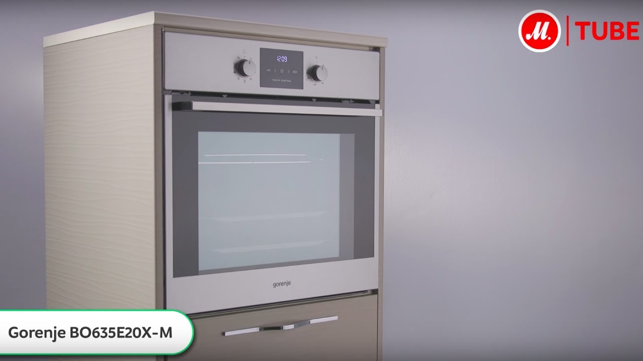 Gorenje BO 73-ORA - стильный и функциональный духовой шкаф - Видео .