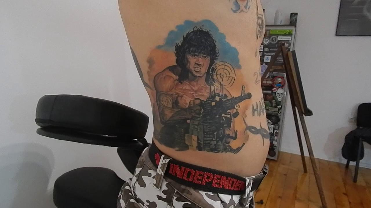 John Rambo First Blood Tattoo Youtube