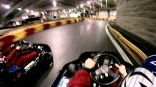 F1 boston Gocarts HD go-pro helmet cam