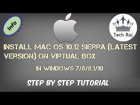 How to Install macOS 10.12 Sierra on Virtual Box [In Windows PC]
