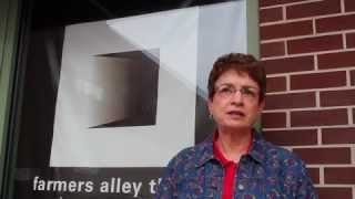 Kathy Mulay of Farmers Alley Theater in Kalamazoo, Michigan