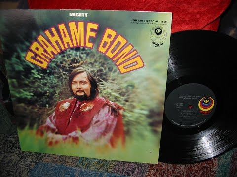 GRAHAM BOND WITH HARVEY MANDEL . LP MIGHTY . 1969