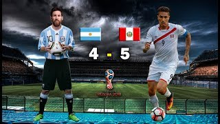 Download Video Argentina 4 vs Perú 5 - Eliminatorias Rusia 2018 -