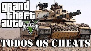 GTA 5: Cheats, Trapaças, Códigos, TUDO! (Português PT-BR) #1