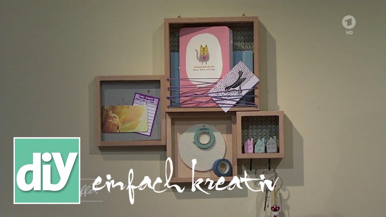 schl sselboard diy einfach kreativ youtube. Black Bedroom Furniture Sets. Home Design Ideas
