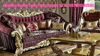 Furniture Ruang Tamu Yang Elegant