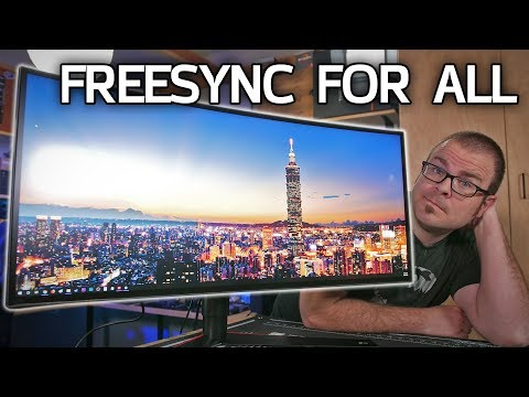 PLAY TEST! FreeSync + NVIDIA GPUs on the NEW LG 34GK950F Ultrawide Monitor
