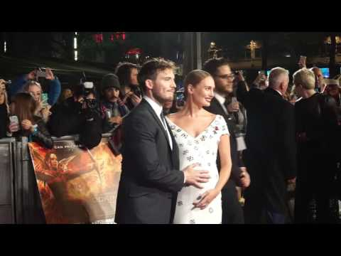 Sam Claflin And Laura Haddock Attned The Hunger Games Mockingjay Part 2 Premiere In London