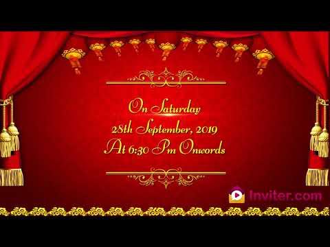 Latest 2019 Whatsapp Upanayanam Ceremony Invitation video | Inviter.com
