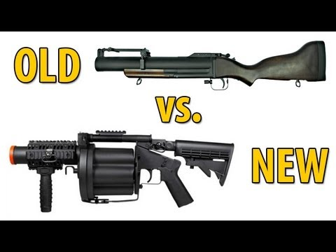 Grenade Launcher Showdown - Old vs New - ICS GLM-190 vs KA M79