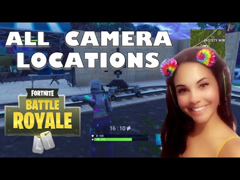 Fortnite: Dance In Front Of Different Film Cameras. All Camera Location!