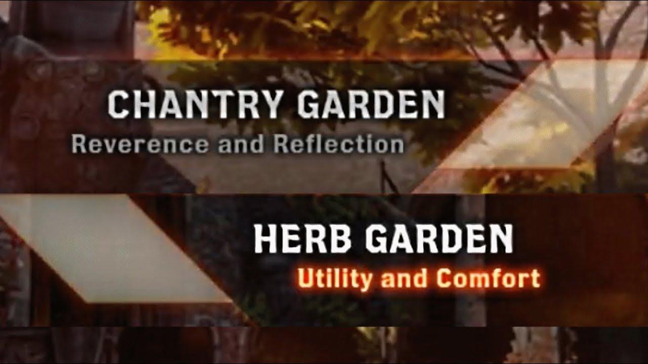 Dragon Age Inquisition Chantry Vs Herbs Skyhold Garden