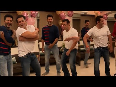 Salman Khan and Prabhu Deva Funny Dance Step on Dabangg 3 Set | Kiccha Sudeep and Sajid Nadiadwala Mp3