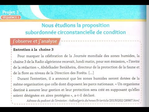 4am, Pages 112-113 La Proposition Subordonnée De Condition