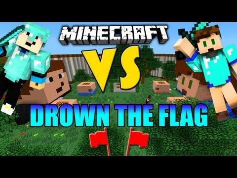 Minecraft DROWN THE FLAG - PvP - Capture the Flag [Deutsch] [HD] [GommeHD]