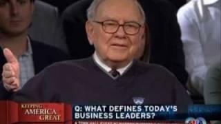 Bill Gates Warren Buffett On Leadership