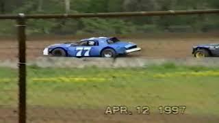 4 12 1997 Cottage Grove Speedway Sportsman, IMCA Modifieds
