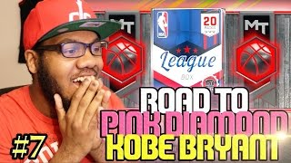 NBA 2k17 MyTEAM Pack Opening - Monster Ruby Pull!! Road To Diamond Pink Diamond Kobe Ep. 7