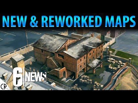 Hereford Rework & Maps Buffs - Operation Chimera Outbreak - 6News - Tom Clancy's Rainbow Six