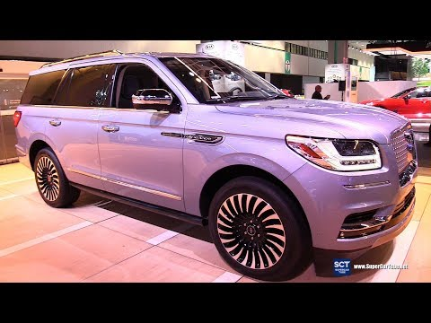 2018 Lincoln Navigator Black Label Yacht Club - Exterior and