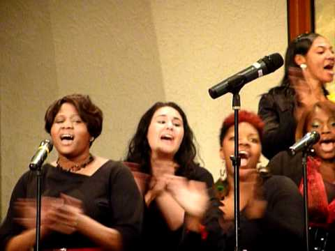 Sam Townsend and the Imani Fellowship Choir.MOV