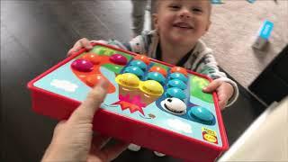2020 Январь. ВЛОГ Детские домашние игры и развлечения