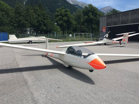 Flying a Glider in Innsbruck, Austria