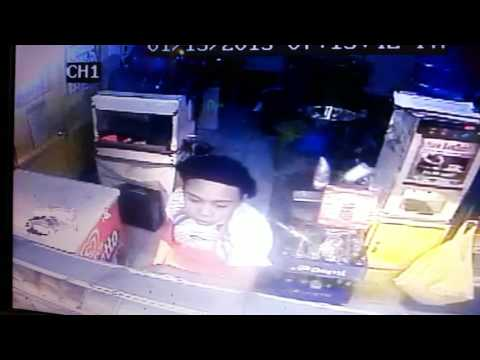 A women stole money in bakery 2015