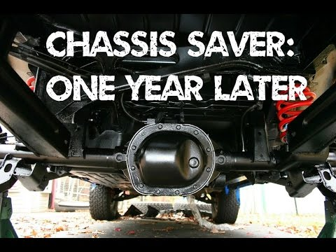 Chassis Saver Year Review