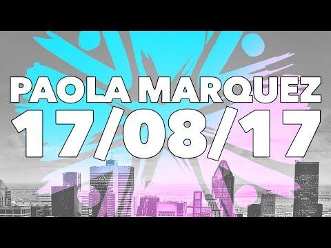 Paola Márquez - Rendez-vous 2017 Plenary - 17/08/2017