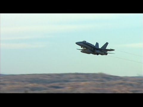 RAW: Canadian Forces Team Leaves CFB Bagotville