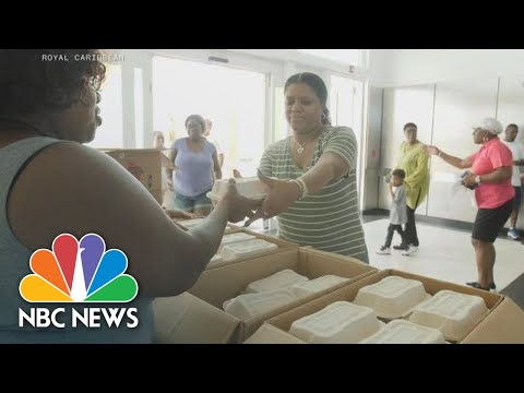 Cruise Ships Deliver Meals, Aid To Bahamas After Hurricane Dorian | NBC News
