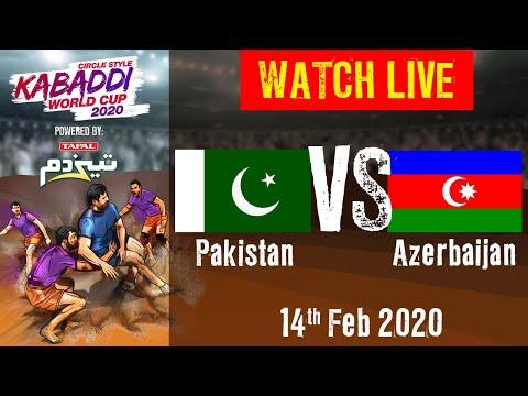 Kabaddi World Cup 2020 Live - Pakistan Vs Azerbaijan - 14 Feb - Match 15 | BSports