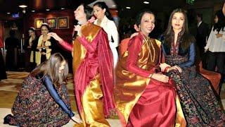 Repeat youtube video Aishwarya Rai Emotional Reunion With Her Childhood Dance Guru