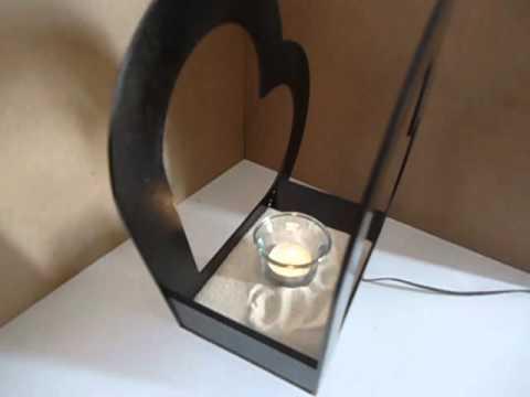 Centro de mesa corazon de madera mdf youtube for Centros de mesa de madera