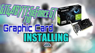 How to Install Gigabyte Nvidia GeForce GT 710 graphics card in your PC | Compu Geeks