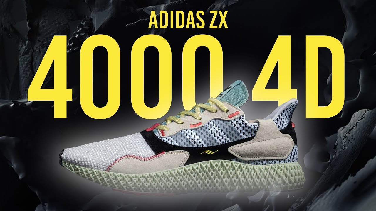 c56fc20c8 ADIDAS ZX 4000 4D REVIEW + ON FOOT - YouTube