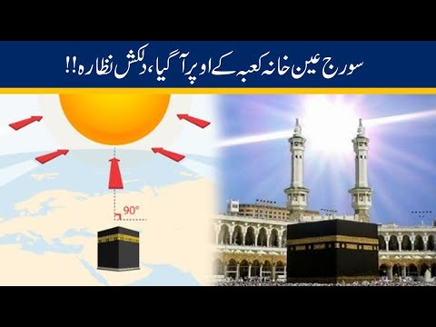 Exclusive!! Sun Align Directly Over Khana Kaaba