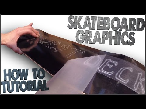 How To Make Your Own Skateboard Graphics (Tutorial)