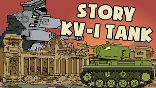 Story of Kliment Voroshilov KV-1 Tank - Cartoons about tanks